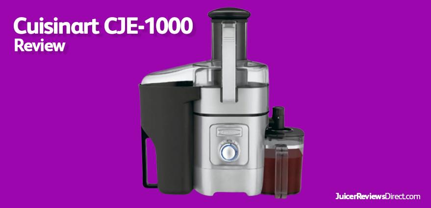 Cuisinart CJE 1000 review