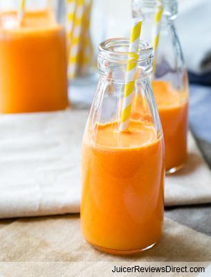 Carrot Ginger Calorie Crusher juice recipe
