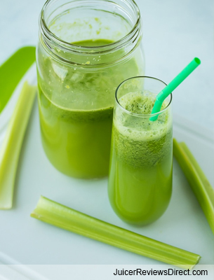 Three Ingredient Green Good Stuff​ juice​