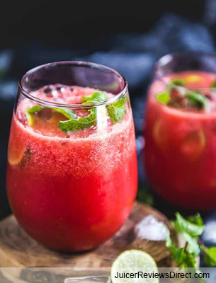 Watermelon Ginger juice recipe