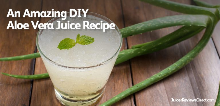 Amazing DIY Aloe Vera Juice Recipes