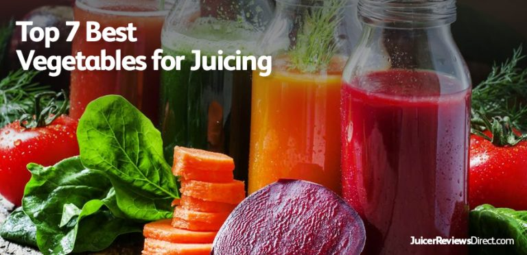 Top 7 Best Vegetables for Juicing
