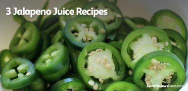 Jalapeno Juice Recipes